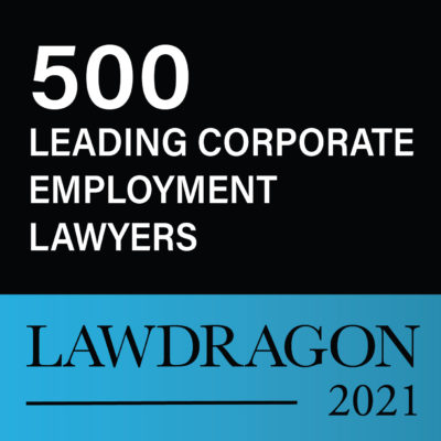 lawdragon 2021 badge for 500 leading corporate employment laywers for todd shadle
